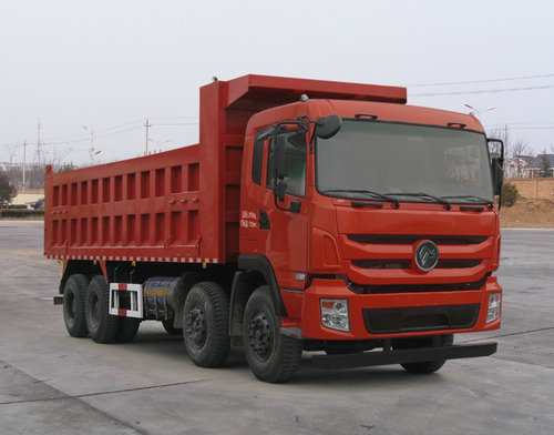 Dongfeng 8*4 NG engine dump truck