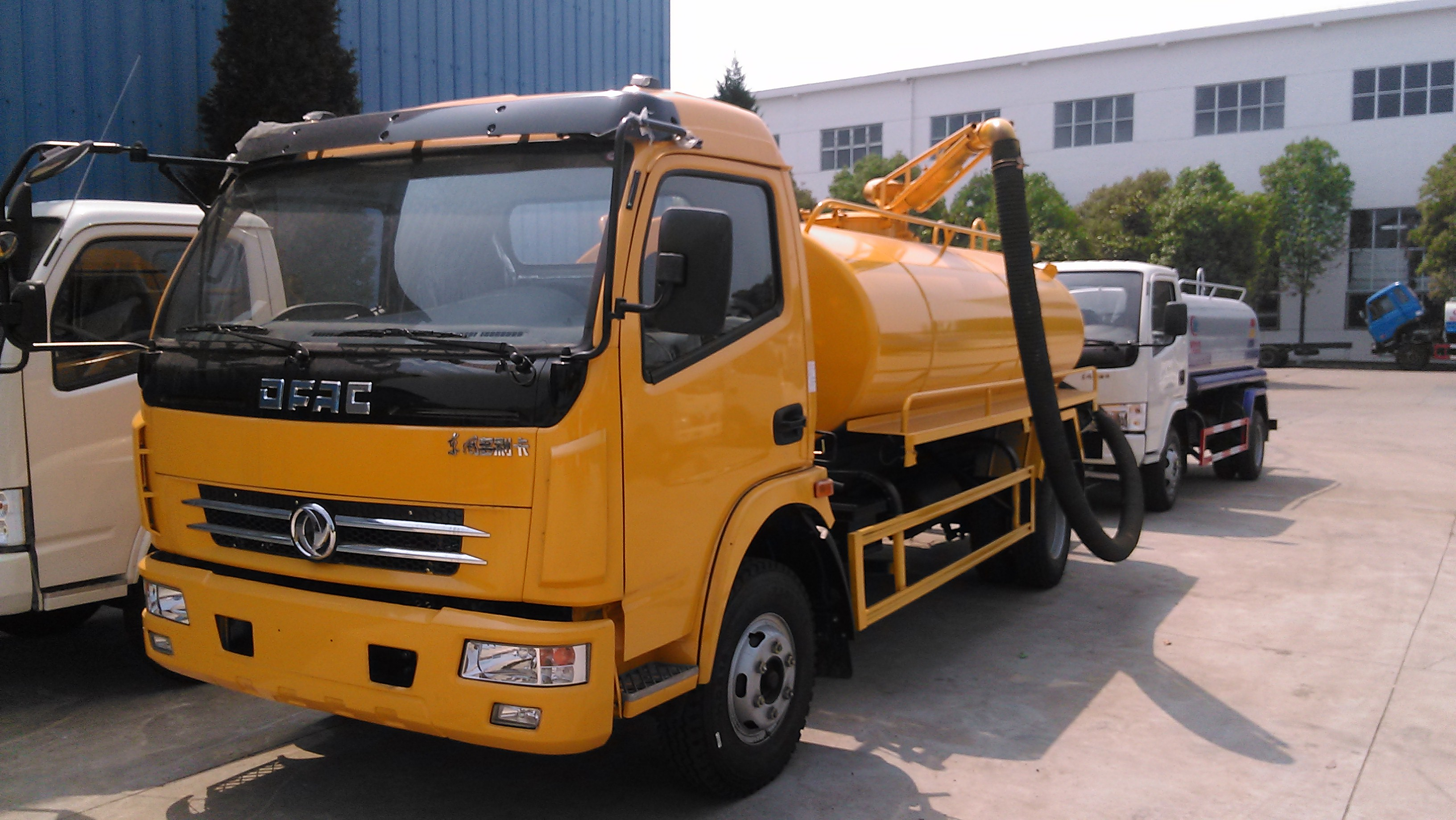 Dongfeng 5cbm fecal suction truck