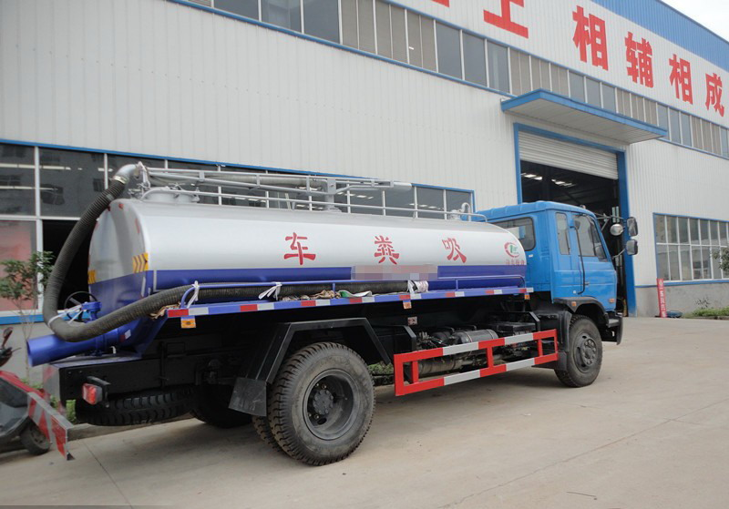 Dongfeng 7cbm cesspoolage truck