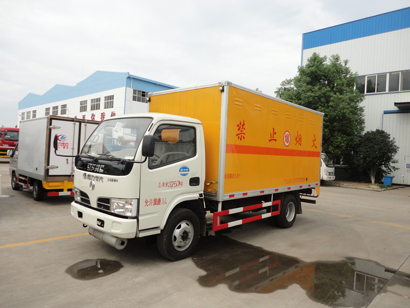 Dongfeng 1.8ton anti-explosion van truck