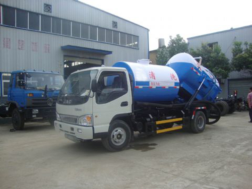 JAC sewer and washer vehicle for sales
