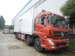 Dongfeng Kinland 8*4 35ton Refrigeration